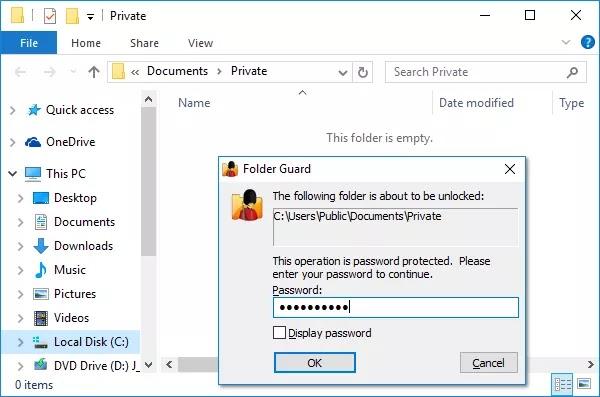 تحميل برنامج Folder Guard 20.9 لتأمين الملفات أو المجلدات