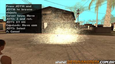 GTA SA - DYOM (Design Your Own Mission) V8.1