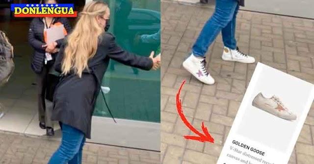 Le regalaron a Lilian Tintori un par de zapatos de 395 Euros