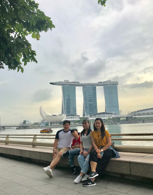 Our family in Singapore