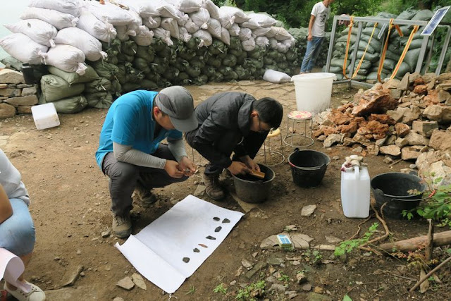 Palaeolithic cave site excavated in north China