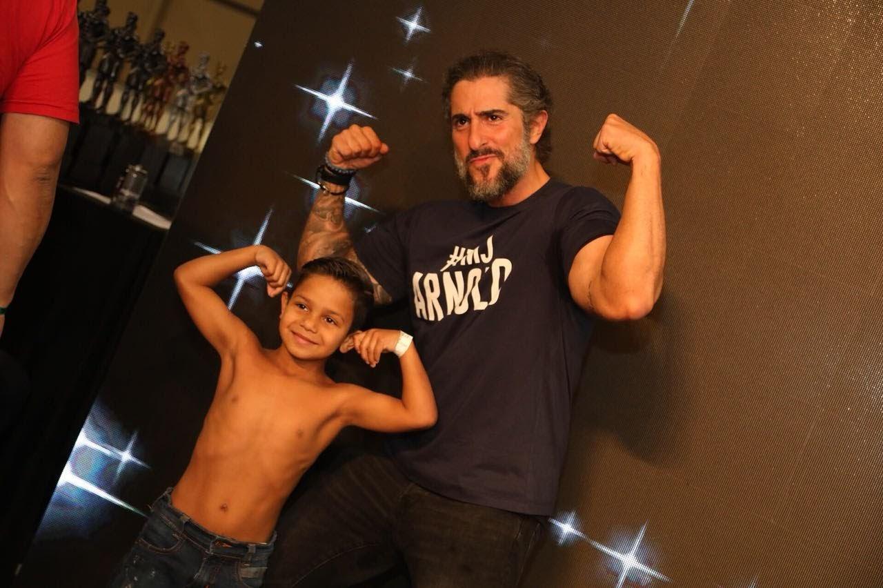 Mion e um futuro atleta. Foto: Rodrigo Dod - Savaget