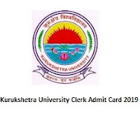 Kurukshetra University Clerk Admit Card