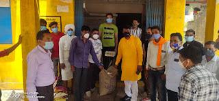 पूर्व विधायक चौहान ने जनजागरण अभियान के तहत आंबुआ, जोबट एवं उदयगढ़ मंडलो का किया दौरा