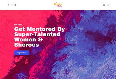 For Creative Girls Mentorship Program for Girls 2018