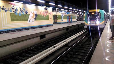 انتهاء 85% من الأعمال المدنية لخط مترو هارون - النزهة