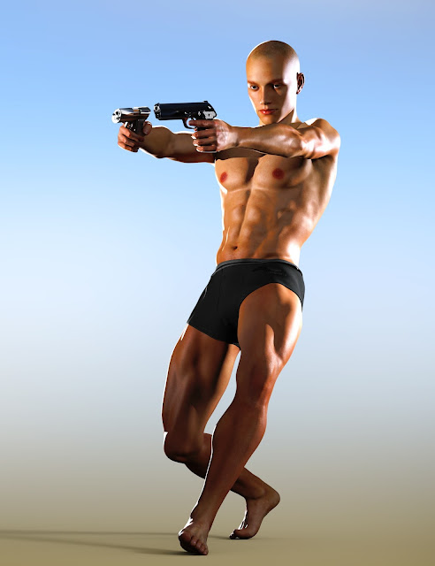 Action Star Poses for Genesis 3 Male