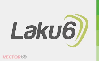 Logo Laku6 - Download Vector File CDR (CorelDraw)