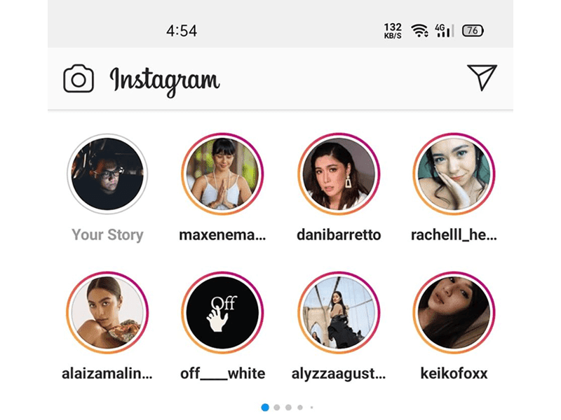 Instagram updates Stories layout into Two Rows separated by pages