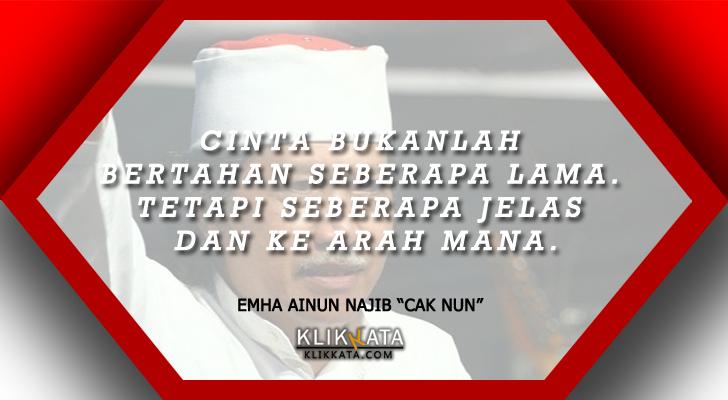 Kata Kata Emha Ainun Najib Cak Nun Kumpulan Mutiara Bijak Dari Seorang Budayawan Indonesia