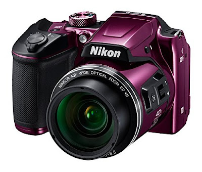 4. Nikon Coolpix B500 16MP Point and Shoot Camera