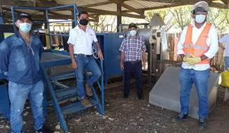 hoyennoticia.com, Cerrejón donó máquina de procesamiento de tubérculos a Maicao