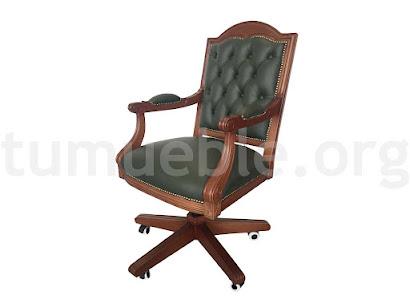 sillón despacho giratorio-elevable