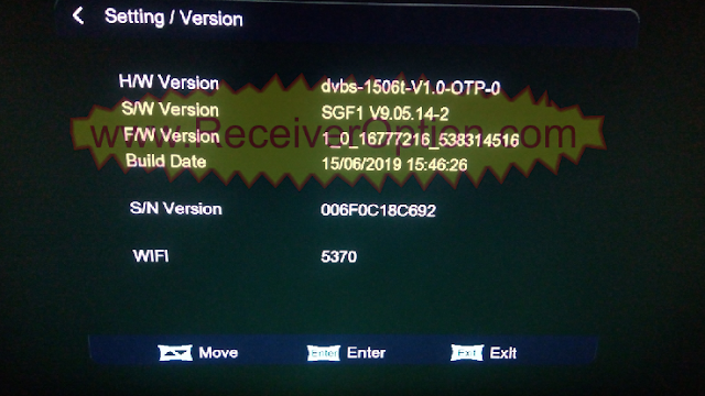 OPENBOX 1506T SCB3 TYPE TEN SPORTS OK NEW SOFTWARE - HOW TO ENTER