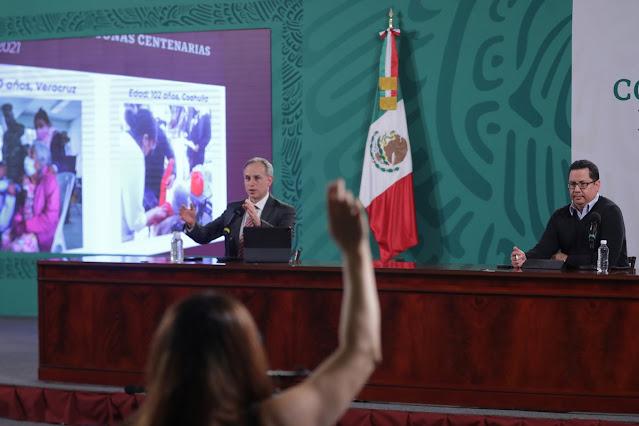Más de un millón de dosis contra COVID-19 han sido aplicadas en México