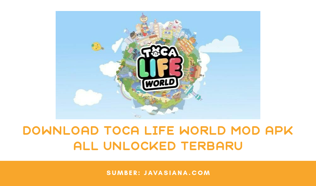 Download Toca Life World Mod Apk All Unlocked Terbaru Untuk Android
