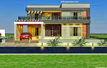 3d Front 1 Kanal Style House Convert In