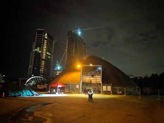 Nuit Blanche 2019 Detritus Inside A Toronto Salt Storage Dome.
