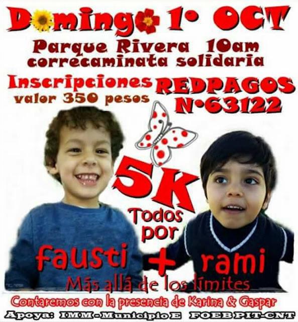 5k Todos por Fausti y Rami (parque Rivera, 01/oct/2017)