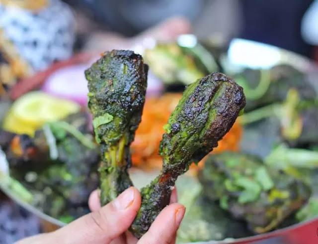 chicken pahadi tandoori, pahadi dish, chicken pahadi, pahadi chicken recipe
