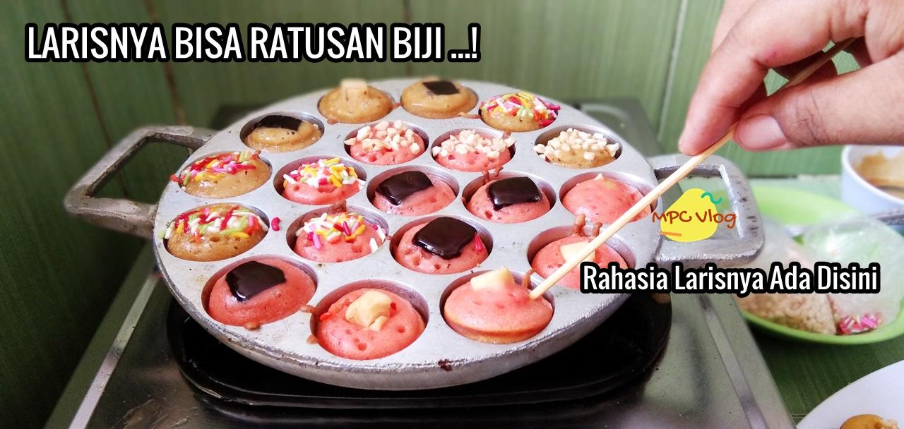 Kue Cubit Mini Lumer Cantik Tanpa Mixer Jajanan Anak