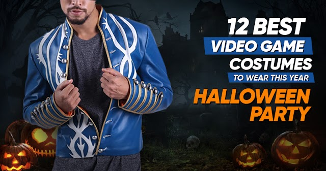 The 12 Best Video Game Costumes To Wear This Year Halloween Party