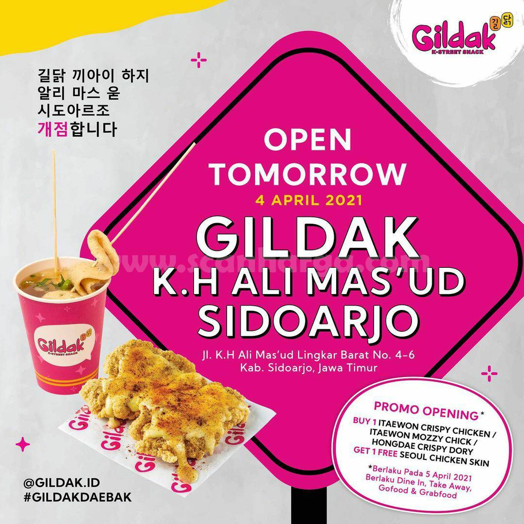 GILDAK K.H Ali Mas'ud Sidoarjo Opening Promo Beli 1 Gratis 1