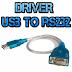 DRIVER PARA ADAPTADORES USB-RS232 - 29/02/2016