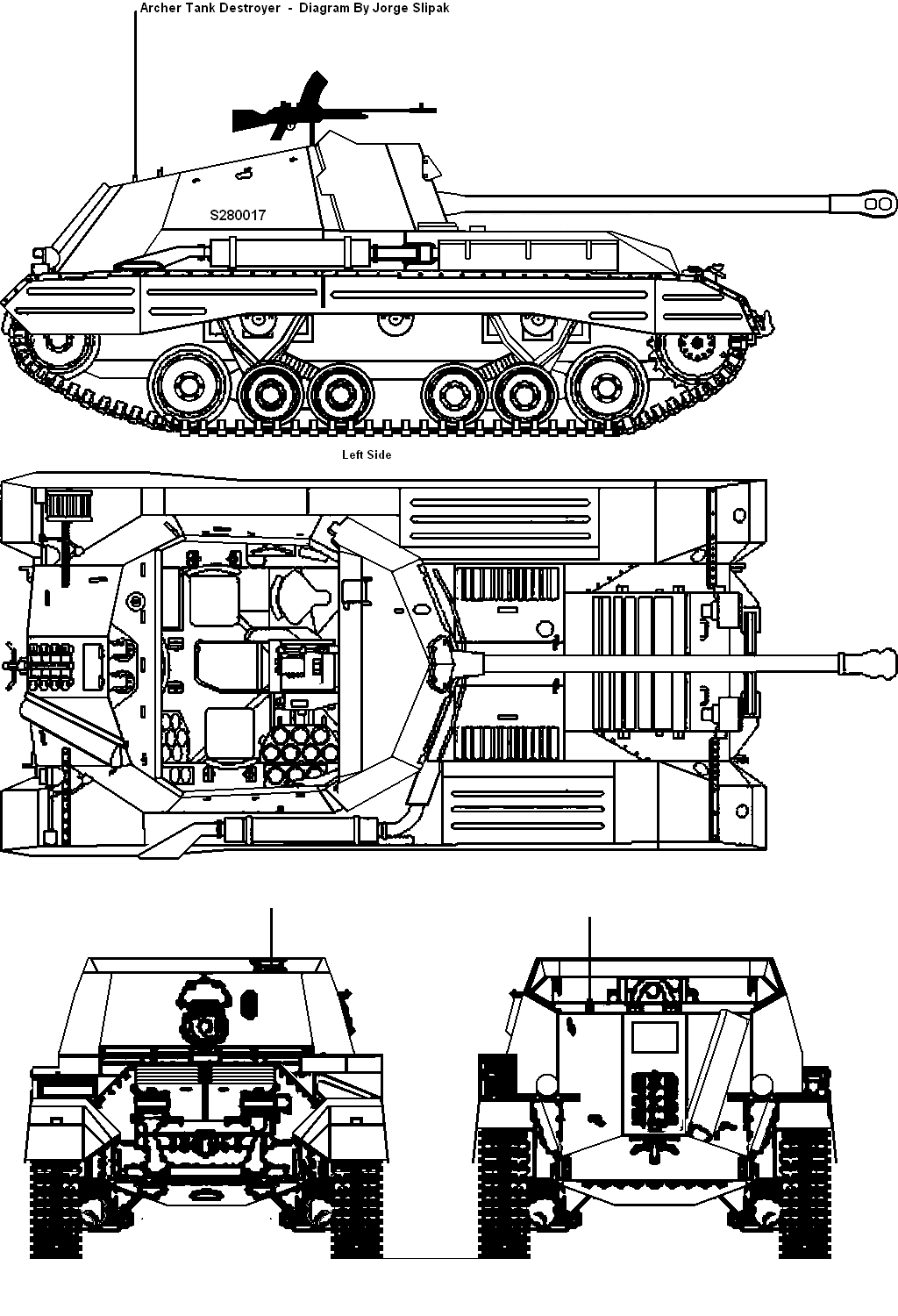 The Archer Tank Destroyer Blueprints