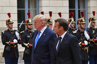 """ترامب:  إن طهران """"تدافع عن الإرهاب"""" في جميع أنحاء الشرق الأوسط"""