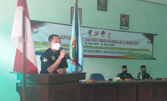 Pemotongan Tumpeng Tandai Puncak Peringatan Harkop Ke 73 Kabupaten Jepara