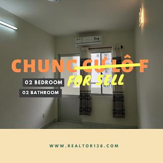 chung cư địa ốc 8 lô f 2 phòng ngủ phường 5 quận 8