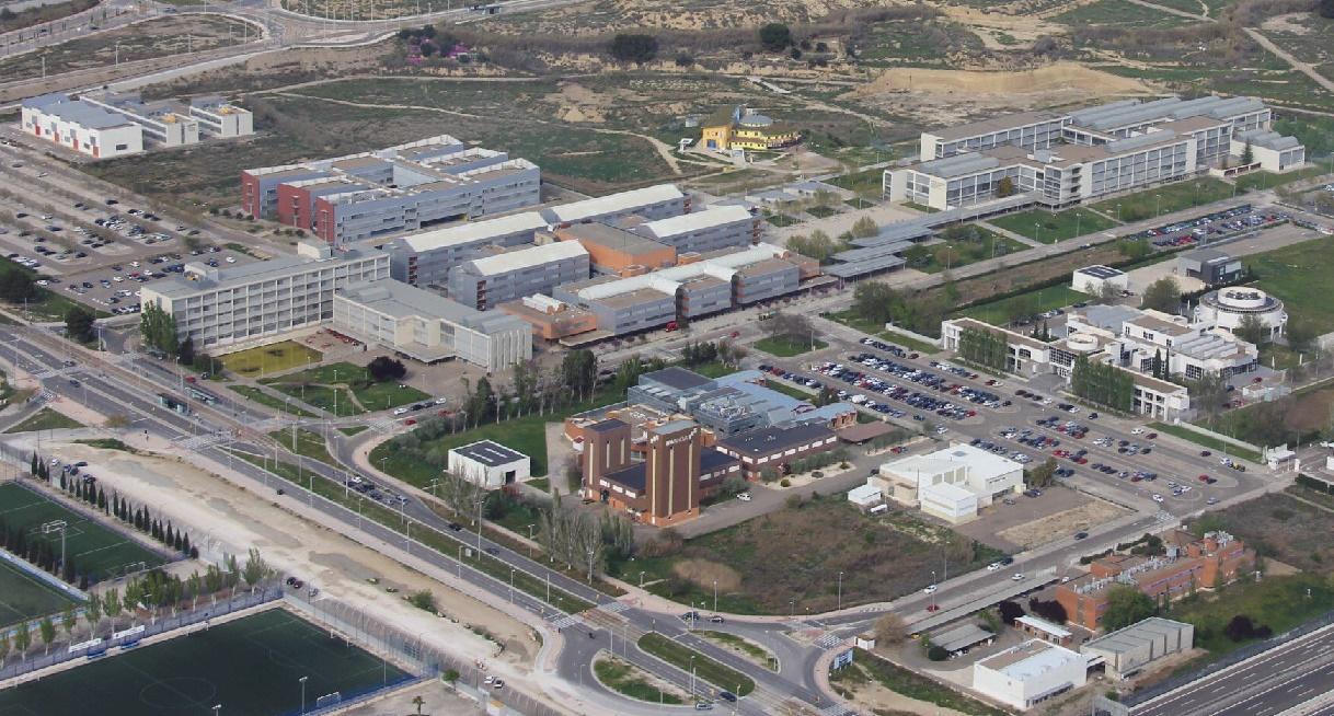 Campus Río Ebro de la Universidad de Zaragoza
