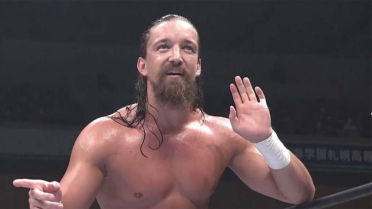 NJPW remove Jay White de seu website