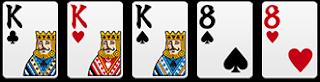 葫蘆:3張相同+1對子