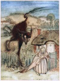 حكايات اطفال قبل النوم السيدة الفقيرة وكنز الوحش