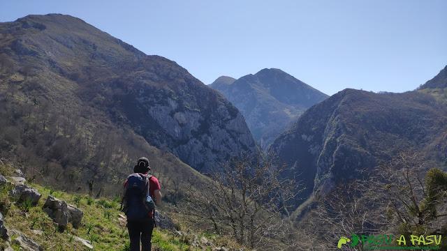 Atravesando el Prau Antonio