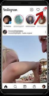 como saber si alguien está en línea Instagram