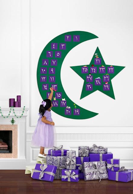 Dekorasi Ramadhan Angka Arab