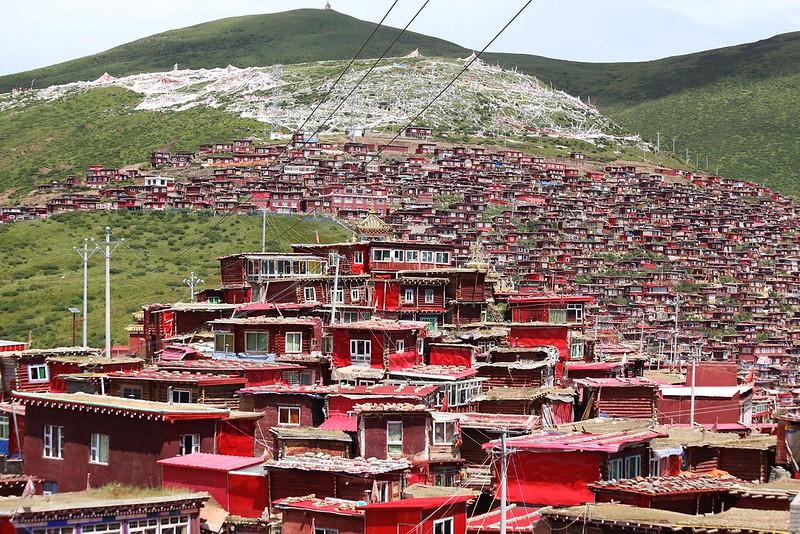 sertar tibet, larung gar, five sciences, Serthar Buddhist Academy, Larung Gar Buddhist Academy, Serta Larung Five Science Buddhist Academy
