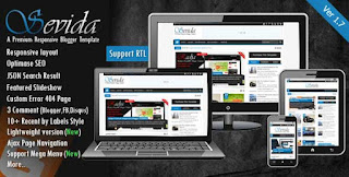 Sevida blogger template is the really advance template from others Customize | Setup Sevida Blogger Template Video Tutorial