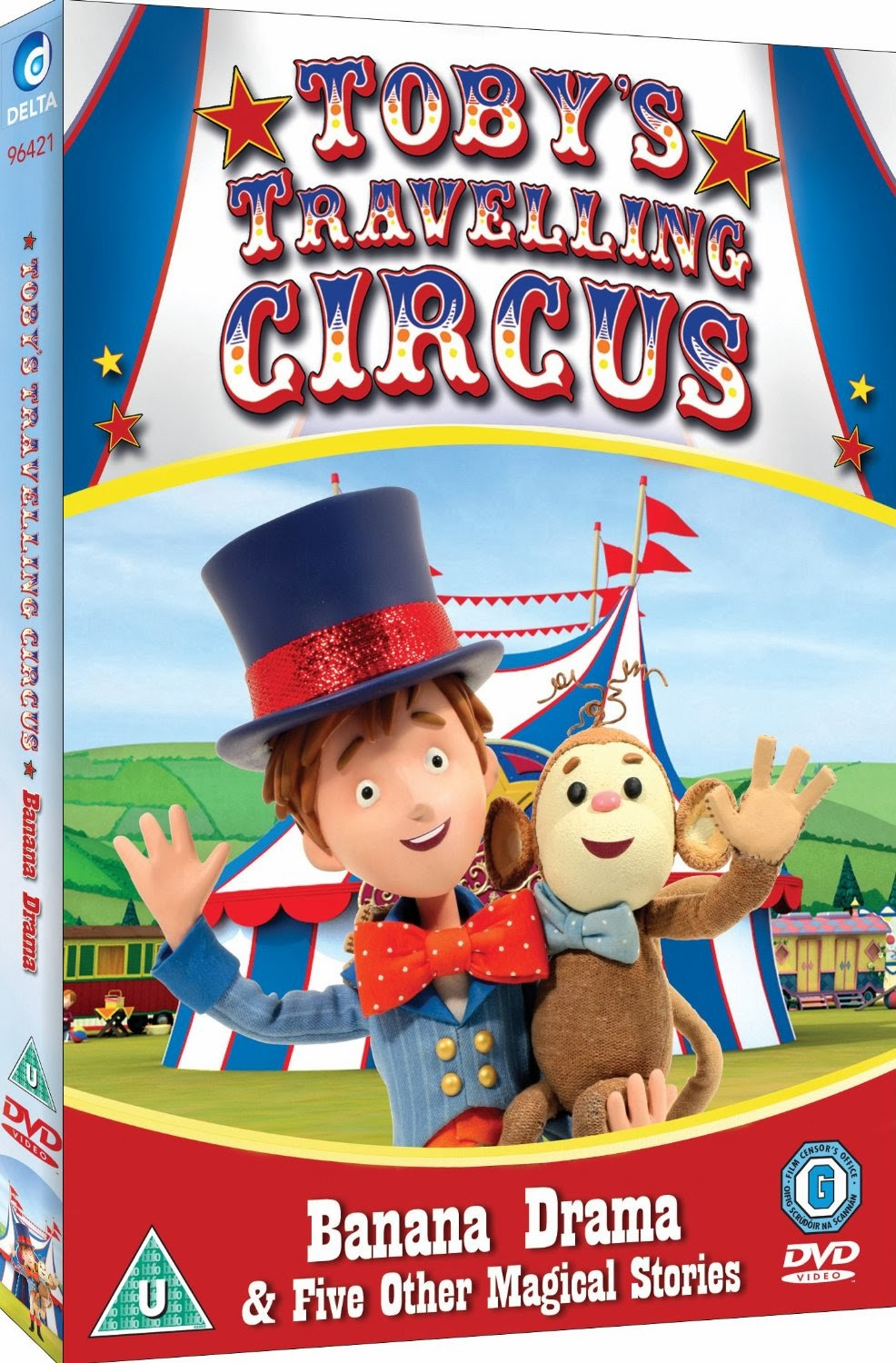 Madhouse Family Reviews Kids Dvd Review Toby S