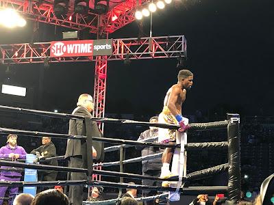 Erickson Lubin Defs. Ishe Smith Via TKO Round 4
