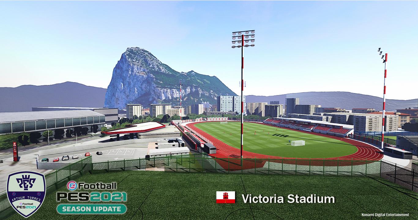 PES 2021 Victoria Stadium (Gibraltar)
