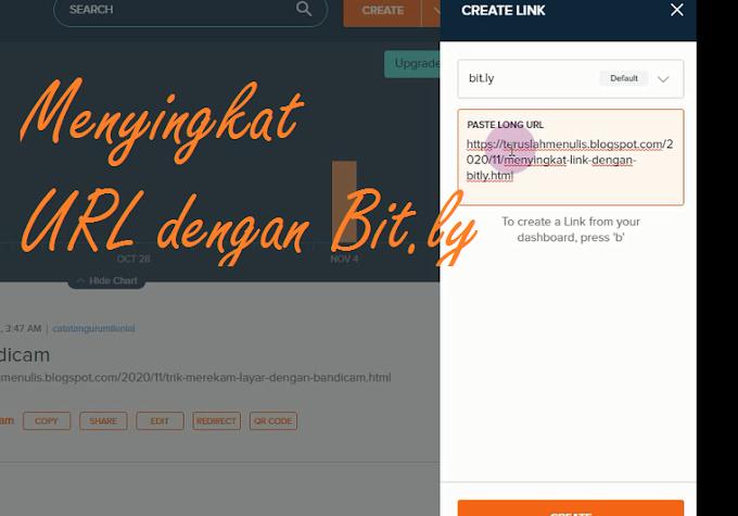 Menyingkat Link Dengan Bit.ly