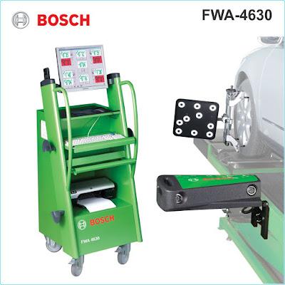 Máy kiểm tra góc đặt bánh xe Bosch- Đức