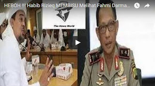 BERITA HEBOH!!! Habib Rizieq MEMBISU Melihat Fahmi Darmawansyah Ditahan Polisi Terkait Kasus Suap