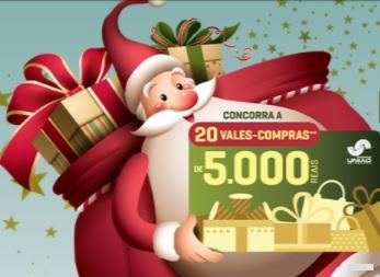 Promoção Natal 2020 União Osasco Shopping Ganhe Panetone Concora Vales-Compras