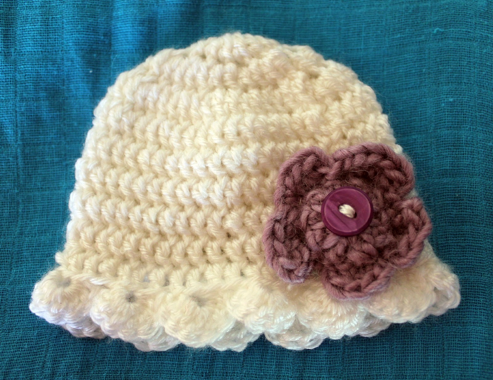 Newborn Crochet Beanie Pattern