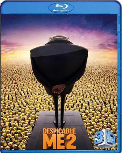 Despicable Me 2 [2013] [BD50] [Latino] [3D]